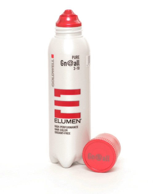 360 Grad Ansicht: Goldwell Elumen Gn@all grün, 200ml