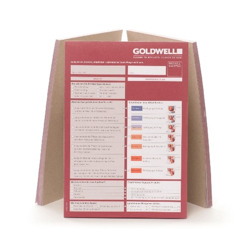 Goldwell InnerEffect Beratungsblock