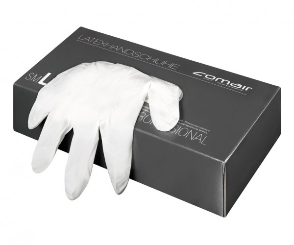 Comair Latexhandschuhe groß gepudert, 100 Stück