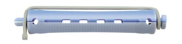 Kaltwellwickler 70mm kurz Ø 13mm blau-grau, 12 Stück