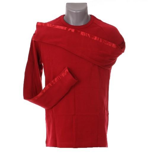 Männer T-Shirt von Goldwell langarm rot, Größe M