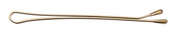 Comair Haarklemmen gold glatt 5cm, 24er Karte