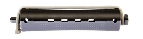 Kaltwellwickler 70mm kurz Ø 16mm grau-anthrazit, 12 Stück