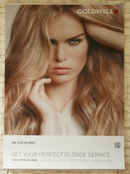 Goldwell New Blonde 2014 Poster Set SUB
