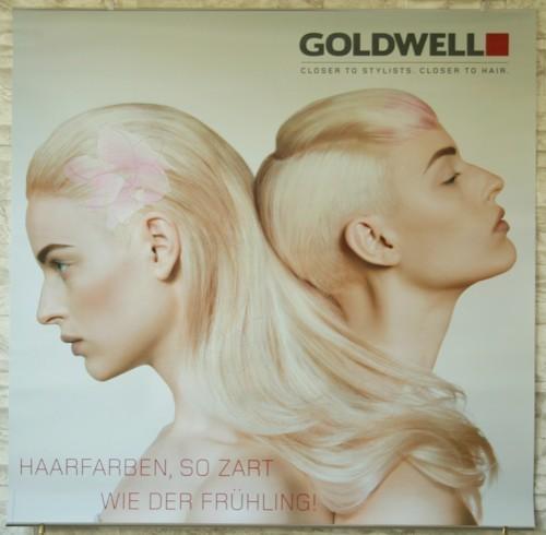 Goldwell Frühlingsdeko 2014 Poster Set