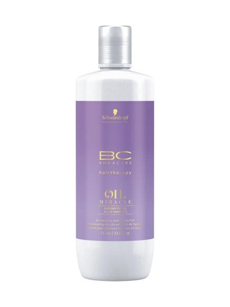 BC Bonacure Oil Miracle Kaktusfeigenöl Shampoo, 1.000ml