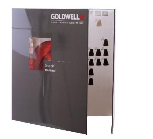 Goldwell Topchic / Colorance Farbkarte