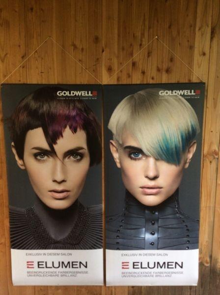 Goldwell Elumen Banner-Set 12, 2 Stück