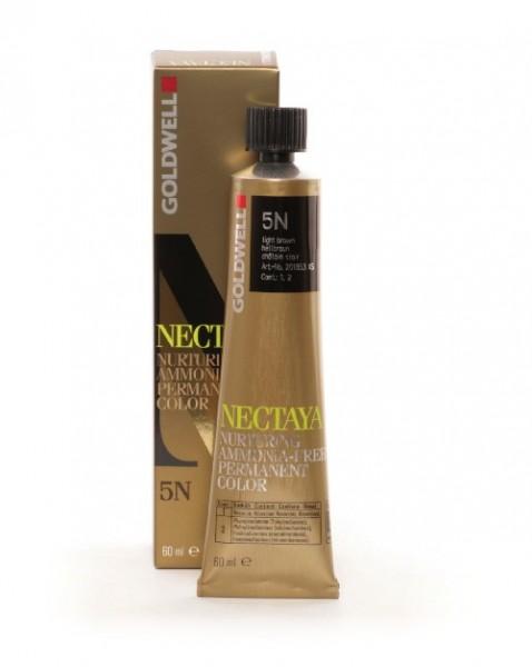 Goldwell Nectaya 5NBK hellbraun refl. golden topaz, 60ml