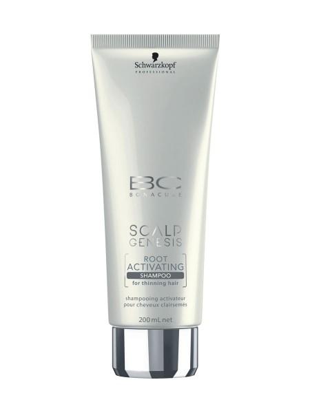 Schwarzkopf BC Bonacure Scalp Genesis Root Activating Shampoo, 200ml