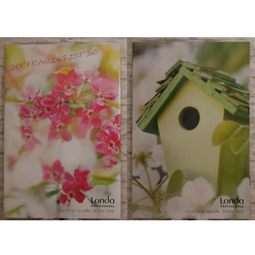 Londa Frühlings - Kartonage - Bilder Set, 2 Stück
