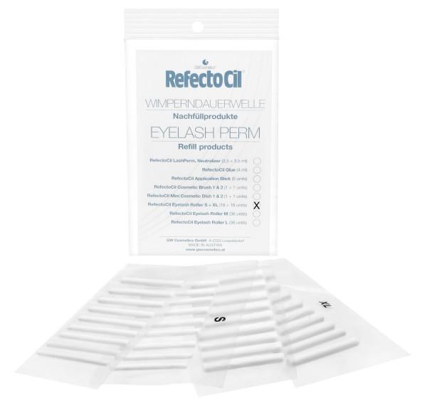 RefectoCil Perm Refill Roller S / XL, je 18 Rollen