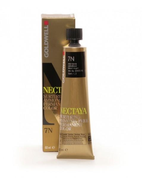Goldwell Nectaya 7NBP mittelblond refl. opal, 60ml