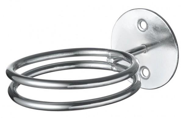 Wandfönhalter Ring Chrom