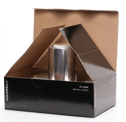 Goldwell Aluminiumfolie 3 Rollen Silber