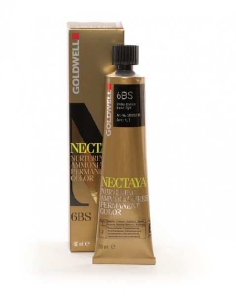 Goldwell Nectaya 6BS smoky couture braun hell, 60ml