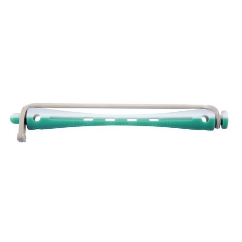 Kaltwellwickler 95mm lang Ø 6mm weiß-grün, 12 Stück