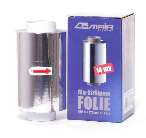 Comair Aluminiumfolie, 250m/12cm/14my, 1 Rolle