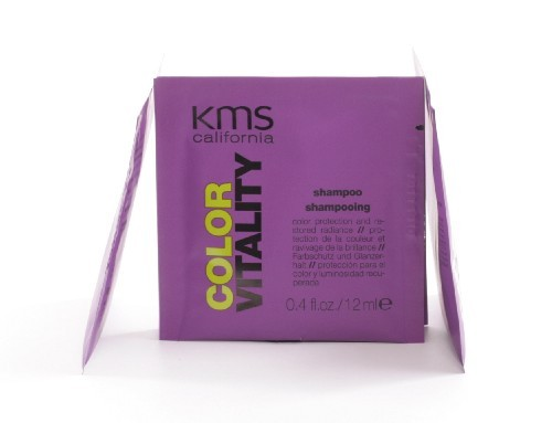 kms california COLOR VITALITY shampoo sachet, 12ml