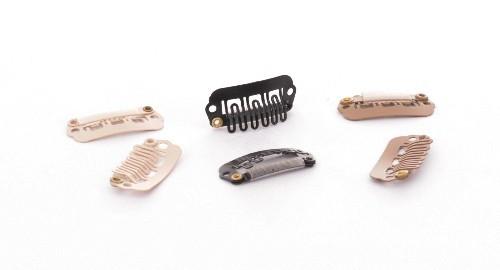 Toupet Clips klein schwarz, 24mm, 1Clip