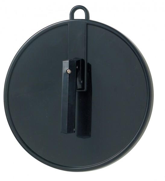 Comair Kabinett-Handspiegel schwarz, Ø 250mm