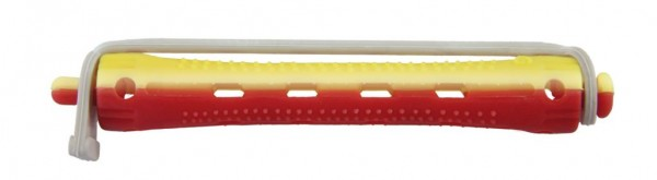 Kaltwellwickler 70mm kurz Ø 9mm gelb-rot, 12 Stück