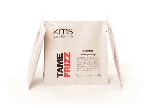 kms california TAME FRIZZ shampoo sachet, 12ml