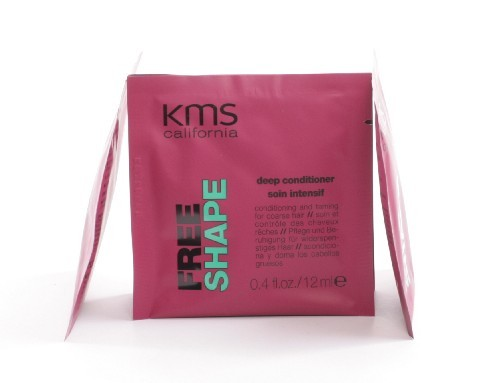 kms california FREE SHAPE deep conditioner sachet, 12ml