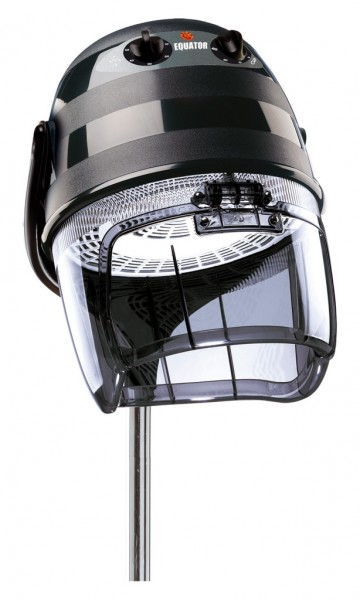 Ceriotti Trockenhaube Equator 3000 schwarz mit Stativ, 1 Geschwindigkeit
