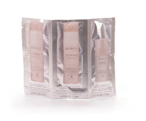 Alterna Bamboo Volume Shampoo, Conditioner und Expand, 3 x 7ml