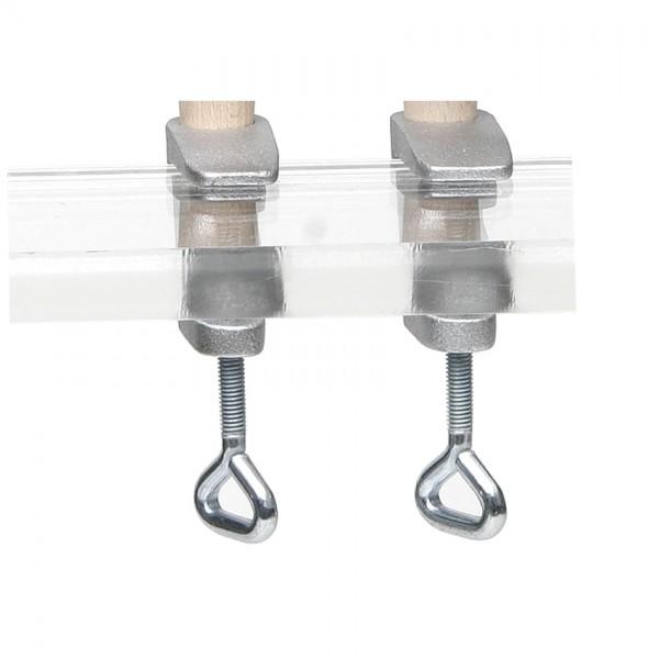 Gussschrauben für Tressierrahmen / Paar