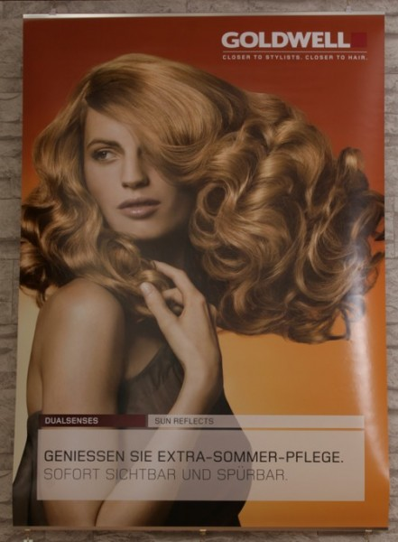 Goldwell Dualsenses Sun 2011 Poster