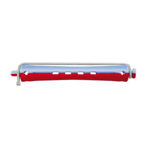 Kaltwellwickler 95mm lang Ø 11mm blau-rot, 12 Stück
