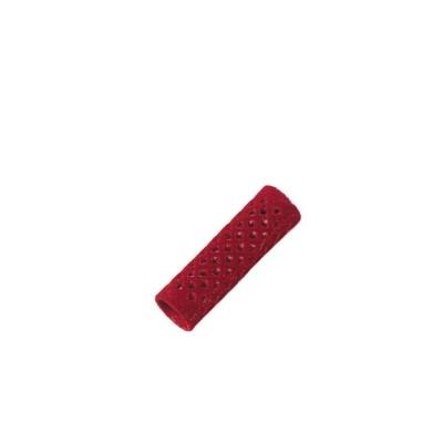 Metallwellwickler lang rot Ø 18mm