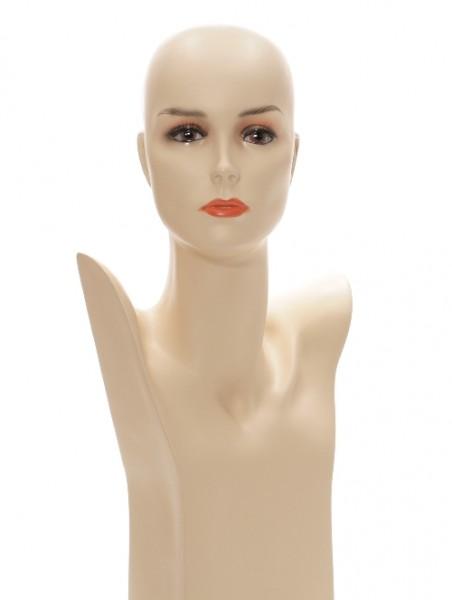 Perückenbüste skin 55cm