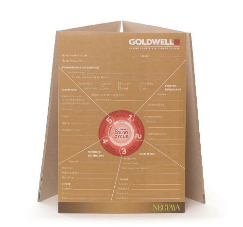Goldwell Nectaya Beratungsblock
