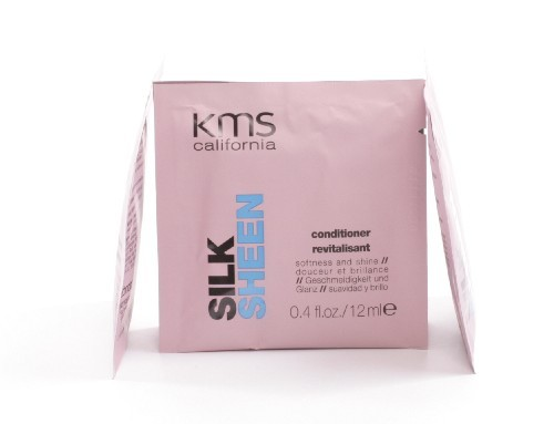 kms california SILK SHEEN conditioner sachet, 12ml
